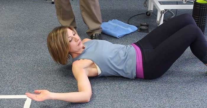 How to Mobilize the Back of Your Shoulder with This Exercise Presented by Pleasantview Physio