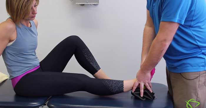Knee extension exercises by Pleasantview Physiotherapy