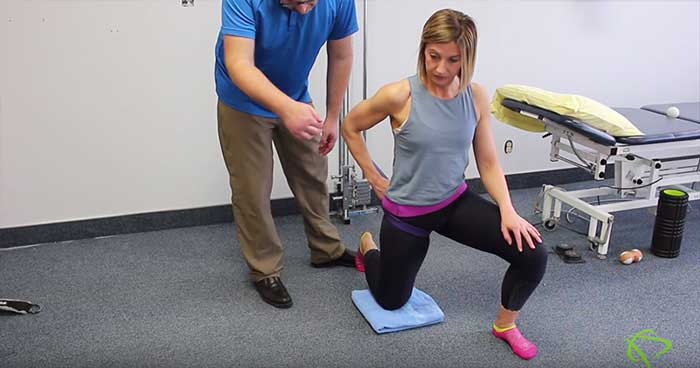 Hip Capsular stretches exercises by Pleasantview Physiotherapy