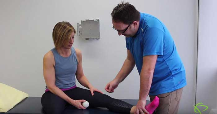 Knee mobilization exercises by Pleasantview Physiotherapy