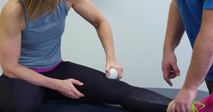 Edmonton Physiotherapist explains how to do knee Mobilization Exercises