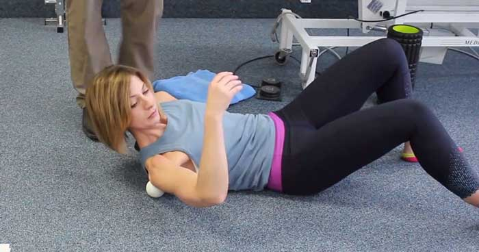 Laying Down Shoulder Exercise Pleasantview Physio