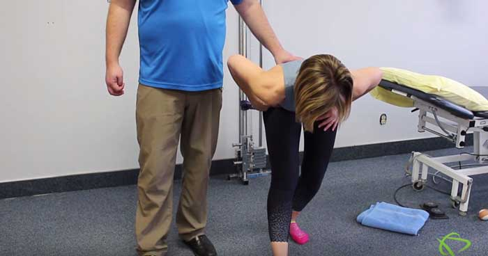 simple exercise you can do at home with a band to mobilize your hips, especially if you're feeling tight