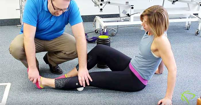 Ankles exercise from Pleasantview Physiotherapy