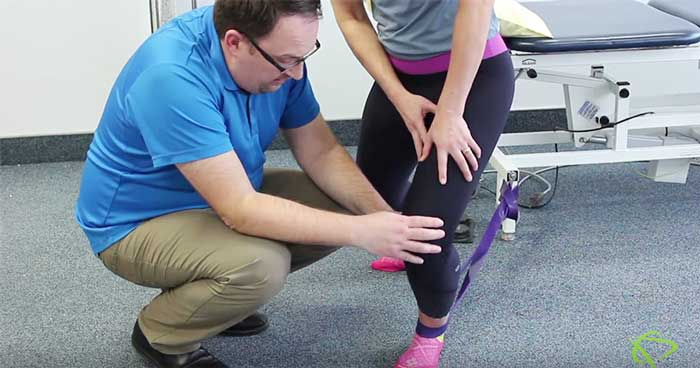 Physiotherapist explains how to to improve movements like squatting, walking, running, jumping