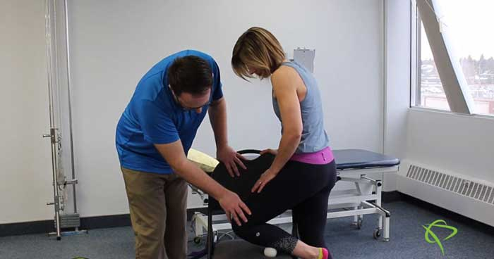 Pleasantview Physio presents a Shin Mobilization Exercises