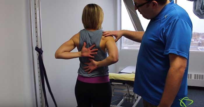 Shoulder Capsular stretches exercises for Edmonton patients